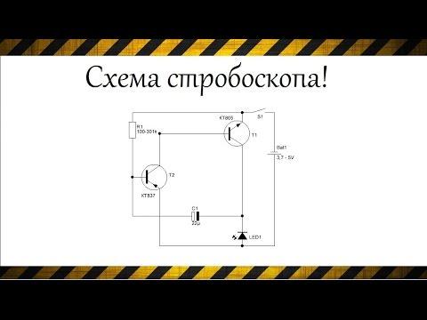 Как сделать простейший стробоскоп