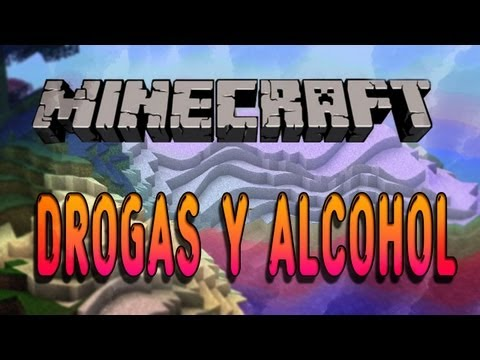 DROGAS Y ALCOHOL en Minecraft - Drugs Mod