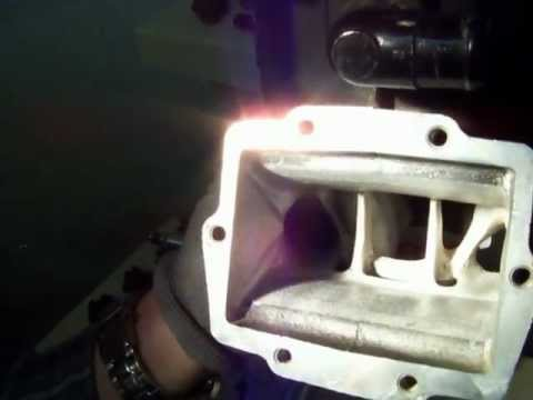 2 stroke porting how to quickly put a textured finish on an intake.MOV