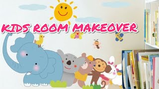 Kids Room Makeover INR 3000 | Kid's Budget Bedroom| Amazon Shopping