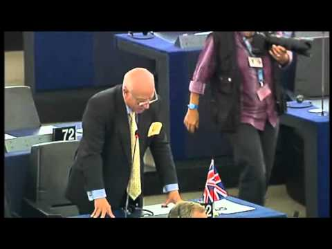 Godfrey Bloom on money-printing central bankers and the European Banking Union