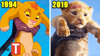 10 Biggest Differences Between The Lion King Remake And The Original