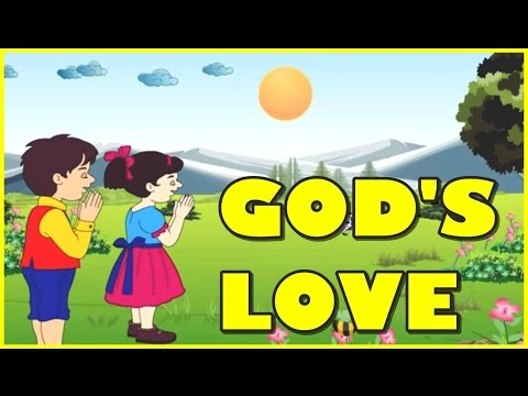 God Love Is So Wonderful Nursery Rhyme | Nursery Rhymes Collection for KIDS