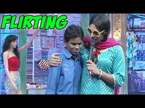 Mad In India : Sunil Grover Aka Chutki Flirts With A Reporter video