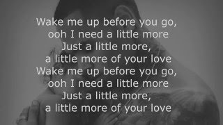 Chris Brown: Little More (Royalty) Lyrics