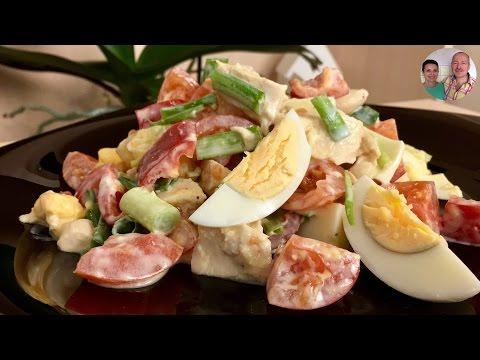 """Салат """"Наслаждение""""! Мой самый любимый фитнес-салат!"""