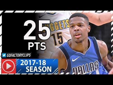 Dennis Smith Jr. Full Highlights vs Nuggets (2018.01.16) - 25 Pts