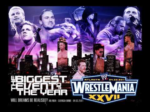 Official Theme Song WWE Wrestlemania 27 + Download Link + Lyrics...