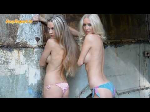 2 Naked Girls Photo Shoot In Nature video