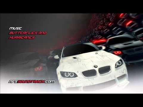 Muse - Butterflies and Hurricanes (NFS Most Wanted 2012 Soundtrack) (intro)