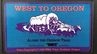 West To Oregon - Along The Oregon Trail - MECC Home Video