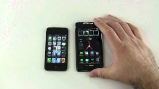 Droid RAZR vs iPhone 4S