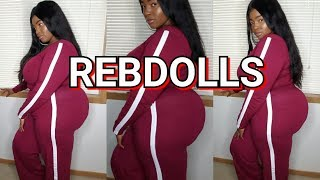 Rebdolls Plus Size Fall Try On Haul | 2 Piece Sets Only! | Victoria Lashay