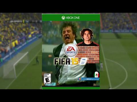 FIFA 15 - Portadas Mexicanas con Equipos de la Liga MX   Parodia