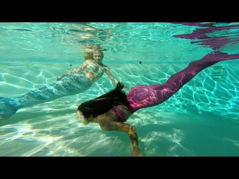 Women Become Mermaids For The Day