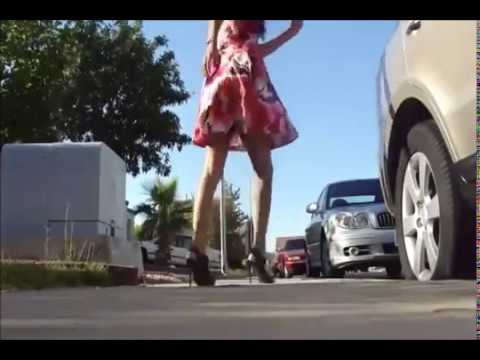 [hard Dance Style][shuffling In Heels 2012][shuffle Girl] video