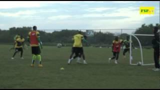 CAN 2015 | Séance d'entrainement aprés le match amical contre le Gabon