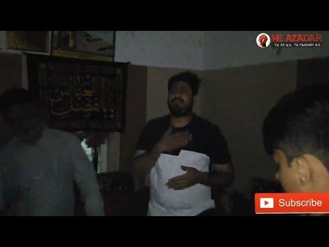 Shab E Jumma Hazari Program Juhapura Nohay By Ali Akbar Ameen Mohammad Abbas Zahra sa Tere Jane say