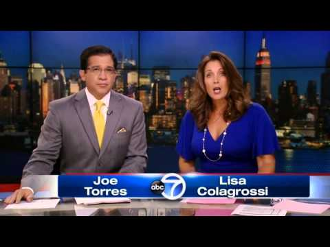 WABC Eyewitness News at 6 Late Open and Long Close 8/31/13