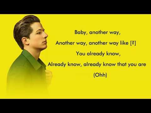Charlie Puth - Attention (Musics)