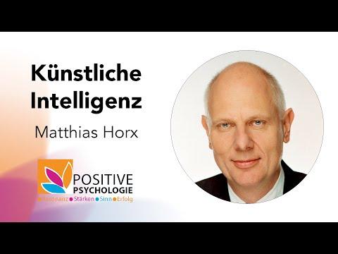 Künstliche Intelligenz / Matthias Horx bei der Positive Psychologie Tour 2019