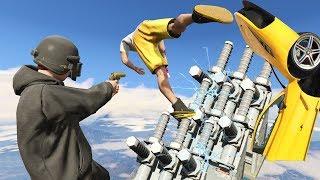 วิ่งไปตายเถอะมึง! กับ ด่านสายฟ้าพิฆาต!! (GTA 5 Online)