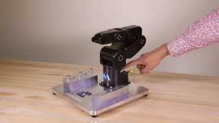 High-accuracy small 6-axis industrial robot arm