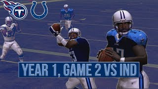A Controversial Call... |  ESPN NFL 2K5 Titans Franchise REBOOTED Y1G2 vs Colts