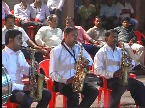 ekvira aai tuzi palukhi go by Bhartiya kala circle brass band...