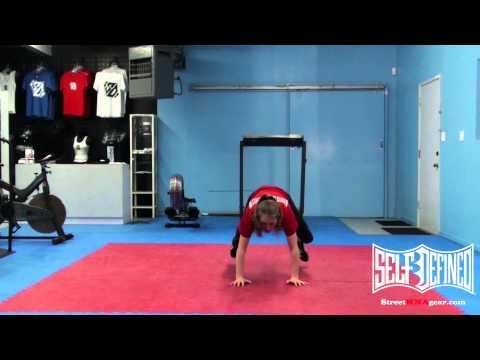 How to Sprawl Drills: MMA Beginner Women's Wrestling Techniques