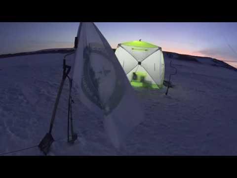 Пол в зимнюю палатку куб своими руками 2