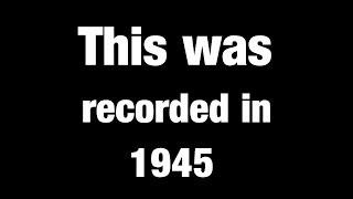 Man Predicting The Future in 1945 100% True