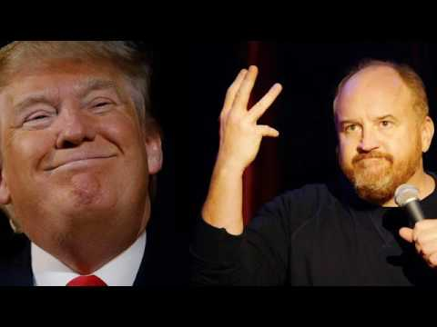 Louis C.K. saw Donald Trump in his casino