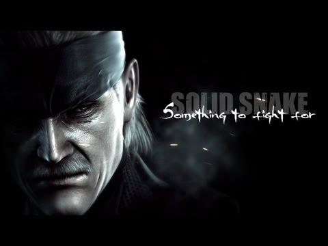Solid Snake - Something to fight for