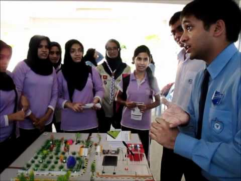 Earth Hour 2012: Understanding Renewable Energy Exhibition at Hiriya School - 30 March 2012