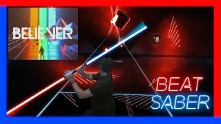 Beat Saber - Believer - Expert - Darth Maul style - Believe the power of the dark side! First try!