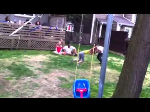 Girls beat Guys at Party ( Guy Humiliated ) thumbnail