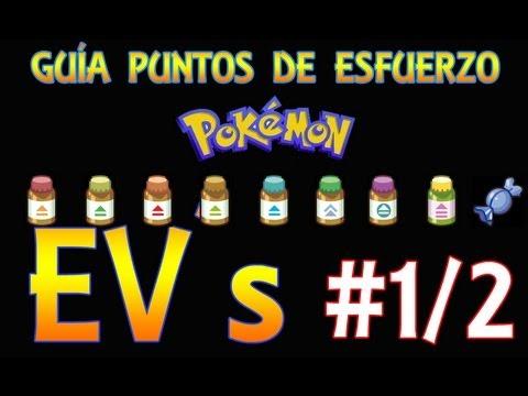 Cómo entrenar bien a tus Pokémon con los Puntos de Esfuerzo (EV´s) [1/2]