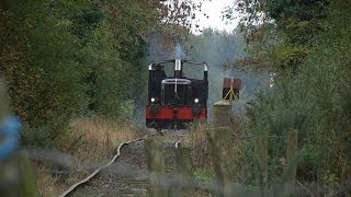 Diesel Shunter G617 at Downpatrick - 26th October 2013