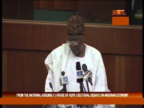 Minister of Information and Culture, Lai Mohammed In Houses of Representatives For Sectoral Debate