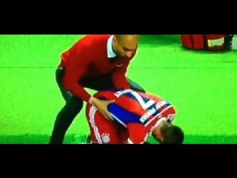 "Pep Guardiola - Franck Ribery ""Sexy Message"" DFB Pokal Finale 2014"