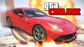 GTA 5 Online (Гонки) - Сумасшедшая езда! #151