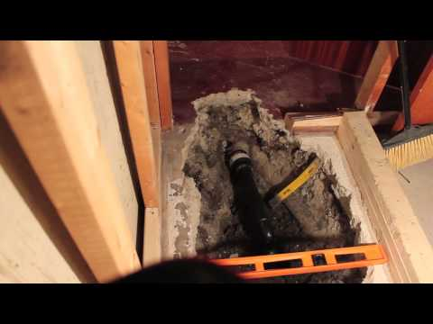 DIY Install New Basement Shower -Part 1 - Old Drain Replacement