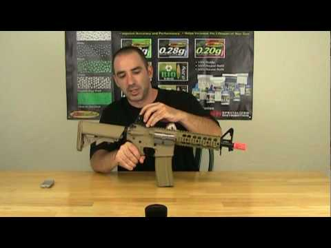 Airsoft Review G&G GR15 Raider DST AEG
