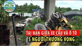 Tin nóng Bến Tre: Toàn cảnh vụ tai nạn hai xe rơi xuống cầu Hàm Luông khiến 5 người thương vong