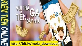 Mola: Make Money Online on Smartphone Android phone - How to Make Money Online