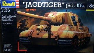 Revell Jagdtiger Sd. Kfz. 186 1:35 Bausatzvorstellung | Panzerschmied