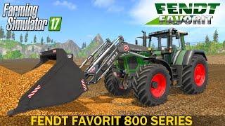 Farming Simulator 17 FENDT FAVORIT 800 SERIES TRACTOR