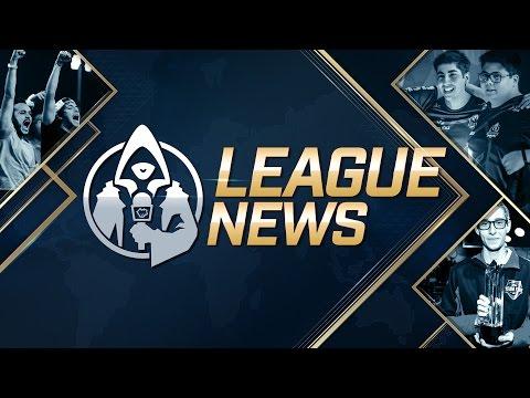 League News: 25/05/2016