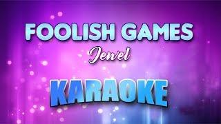 Jewel - Foolish Games (Karaoke version with Lyrics)